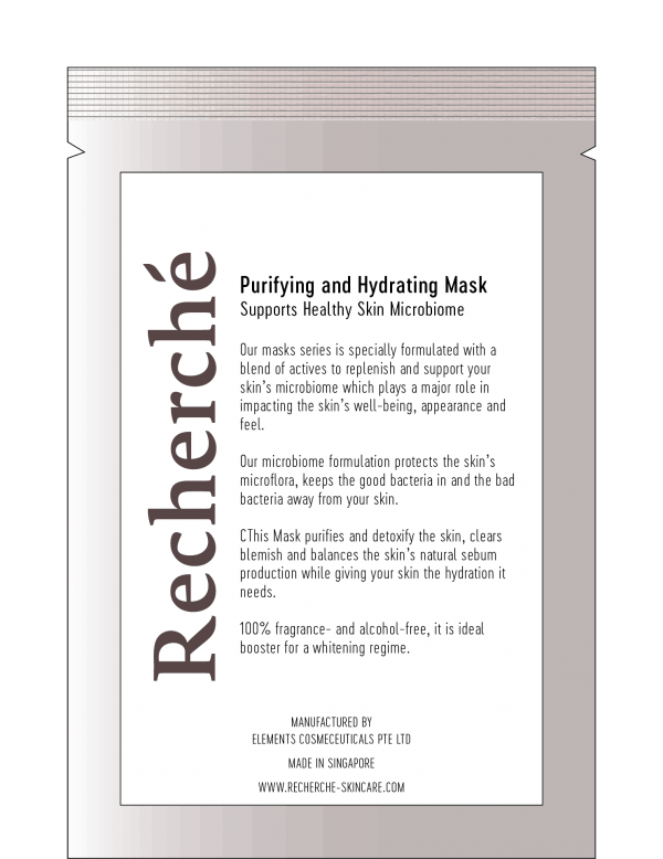 Purifying and Hydrating Mask 1
