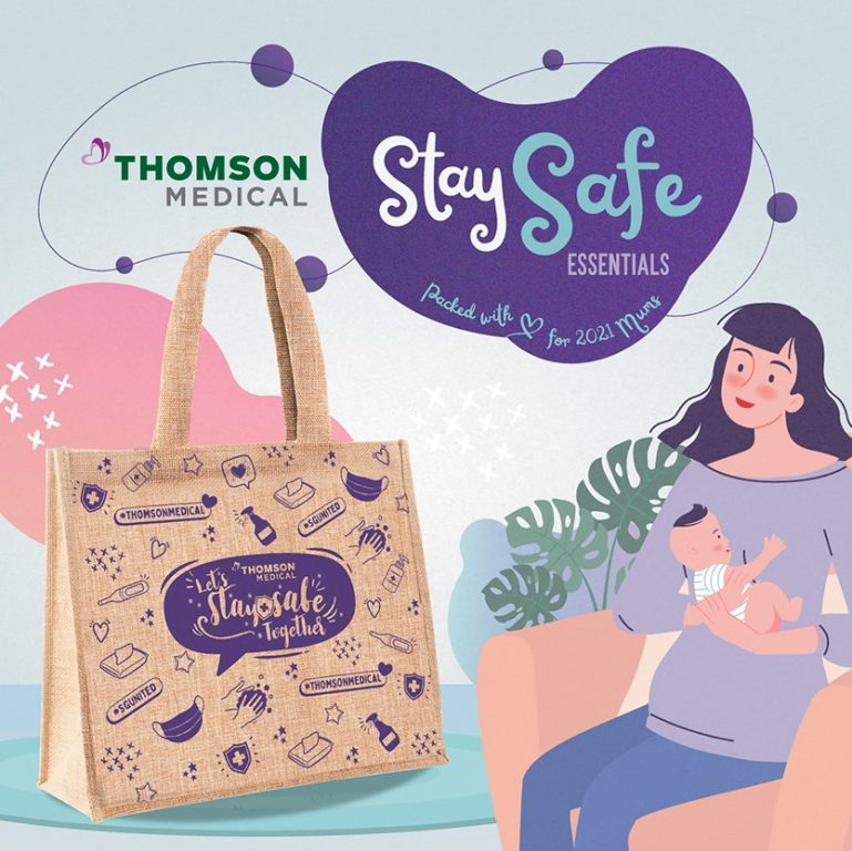 Stay Safe Essentials for all 2021 Mummies by Thomson Medical